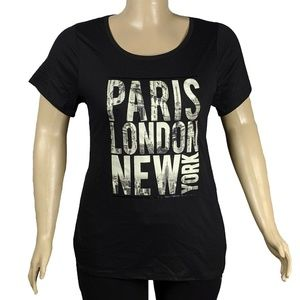 Lane Bryant Strap Back Paris-London-New York NWT